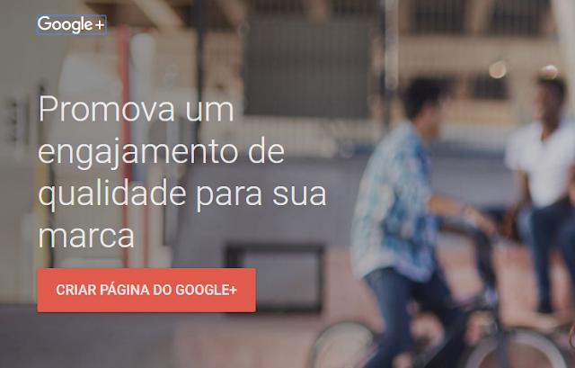 Aprenda como criar uma página no Google Plus para seu site ou blog