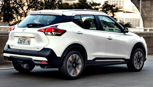 Nissan Kicks 2017 blanco