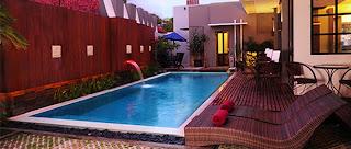 kolam renang di savali hotel