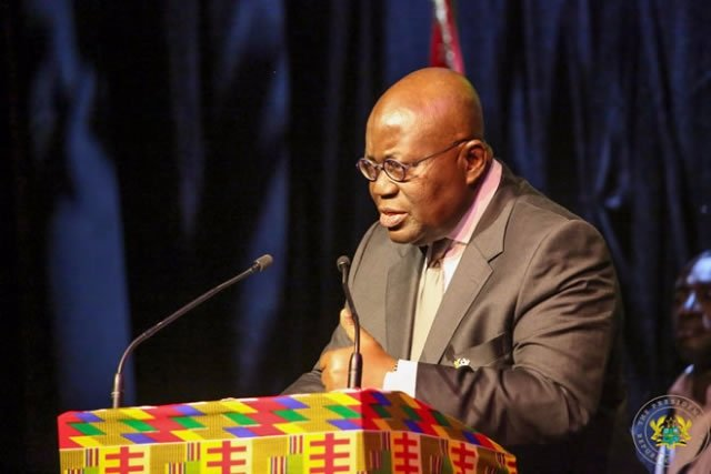 Free SHS is not about politics -- Akufo-Addo