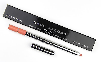 Marc Jacobs Beauty (P)outliner Longwear Lip Liner Pencil Honey(bun) honeybun review swatch swatches