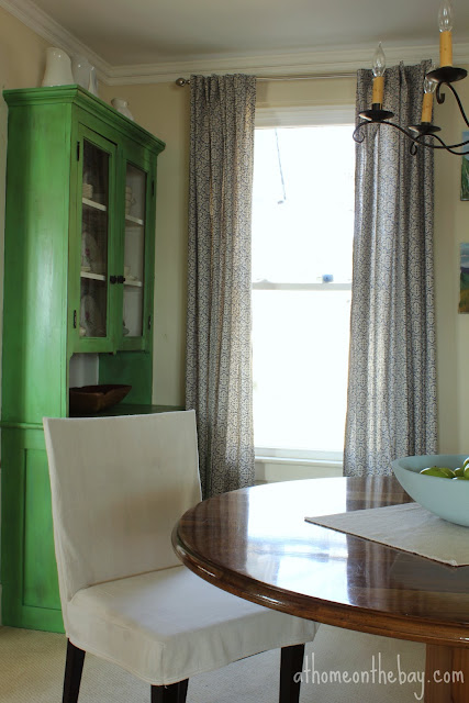 Dining Chair Drop Cloth Slipcovers