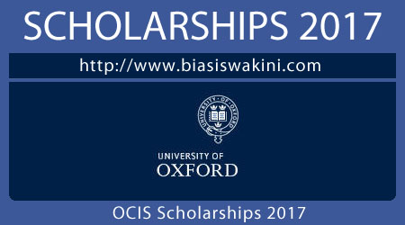 Oxford Centre For Islamic Studies Scholarships 2017
