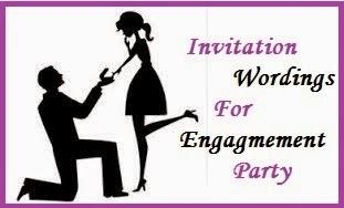 Sample Invitation Wordings Engagement
