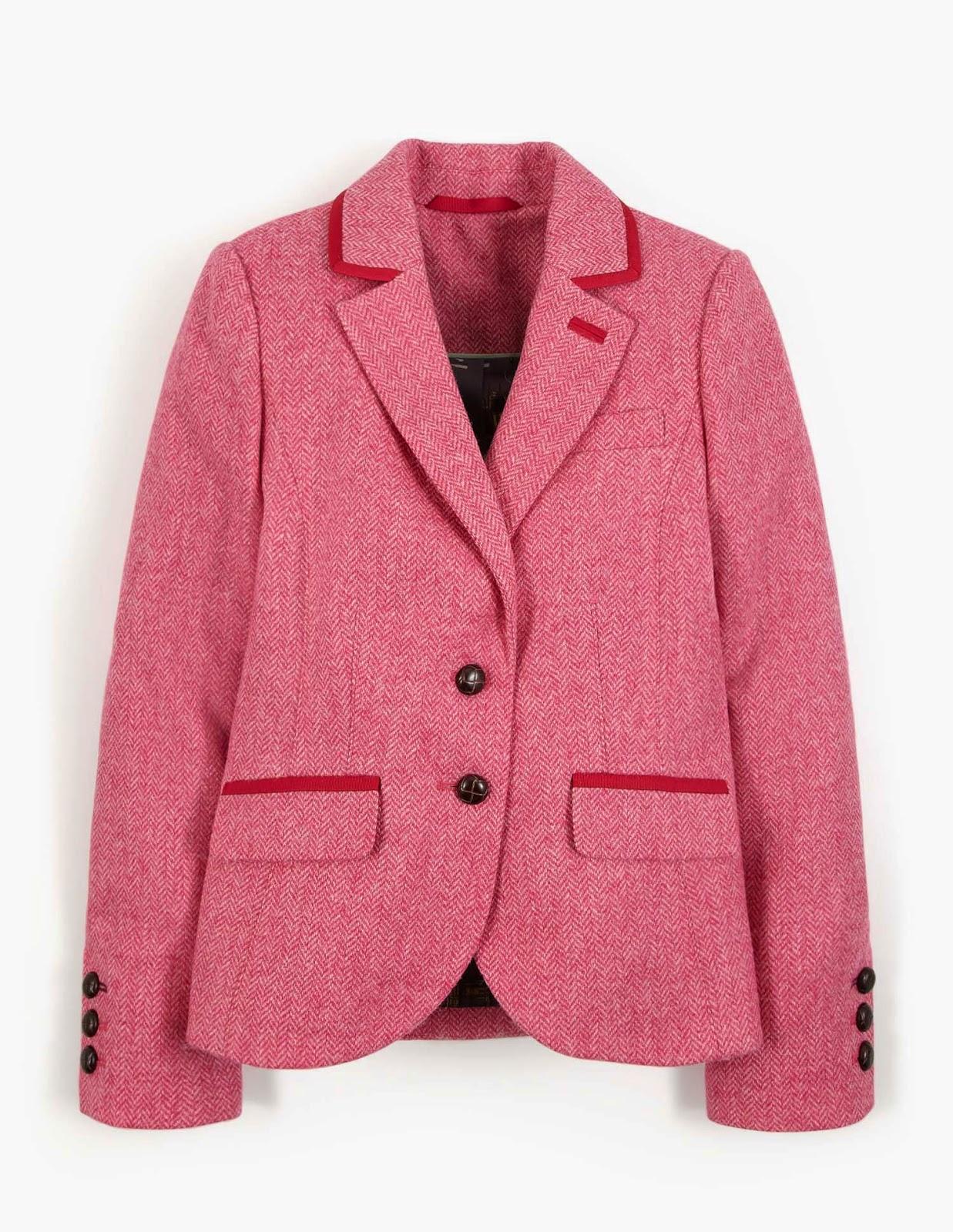 62a757c0c9 British Tweed Blazer. I know I can t shut up about my J. Crew Bella Jacket  in Pink Herringbone