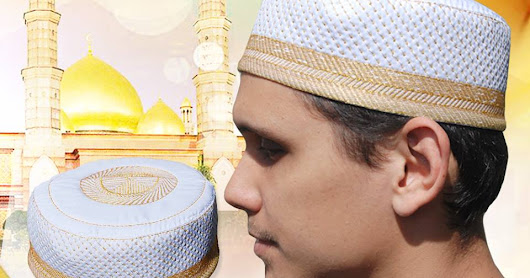 Padded Kufi Hats - Muslim Clothing