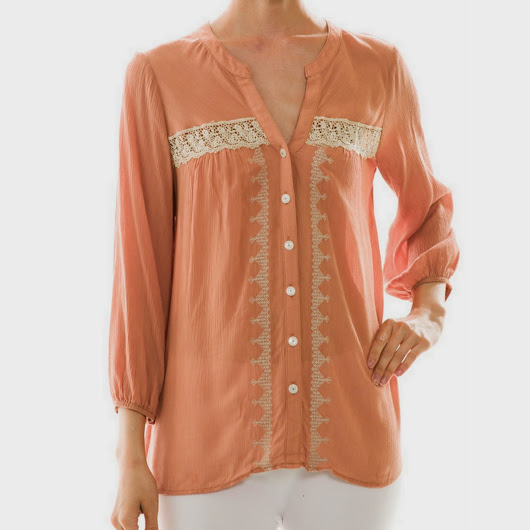 TheBackwardsOwl: Blushing Beauty Blouse Now Available