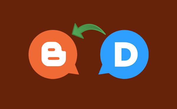 Cara Mengembalikan Komentar Disqus Permanen Menjadi Komentar Blogger