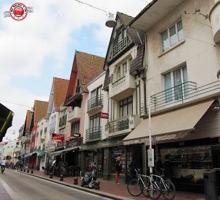 Le Touquet - calle comercial