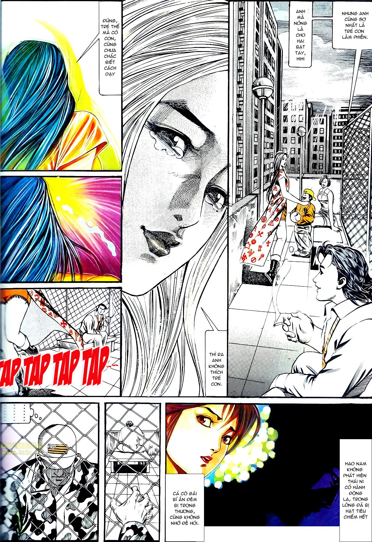 Người Trong Giang Hồ chapter 137: yêu nhất là ai trang 15