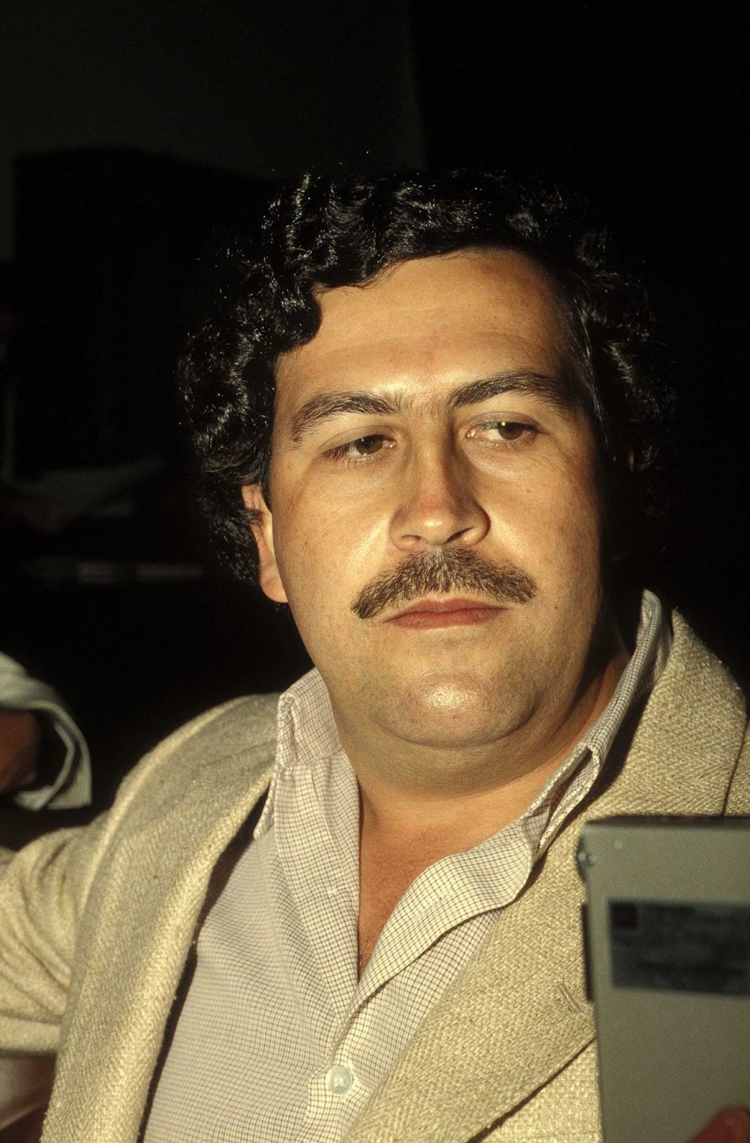 Pablo Escobar a la altura de su poder. 1988.