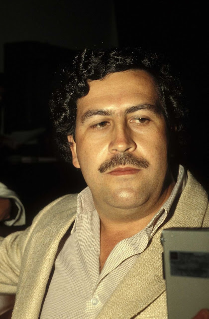 Pablo Escobar at the height of his power. 1988.