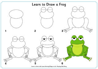 From The Heart Up.: FREE learn to draw printables ...
