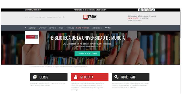 Ingebook, libros de texto en formato electrónico