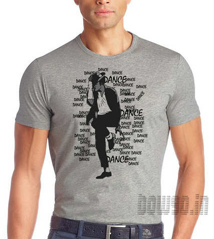 a0ee36efed20 michael jackson Dance printed tshirt, cheap cotton tshirt for michael  jackson lovers, Qulaity cotton