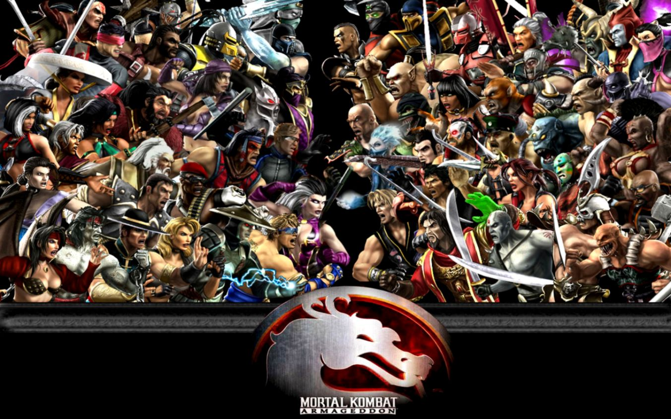Mortal Kombat Characters Wallpaper Full Hd Wallpapers