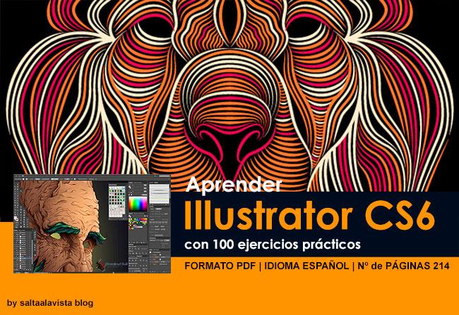 Descargar Libro Aprender Illustrator CS6 con 100 Ejercicios Prácticos
