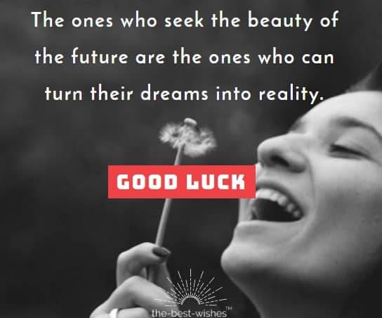 Good Luck wish for Future