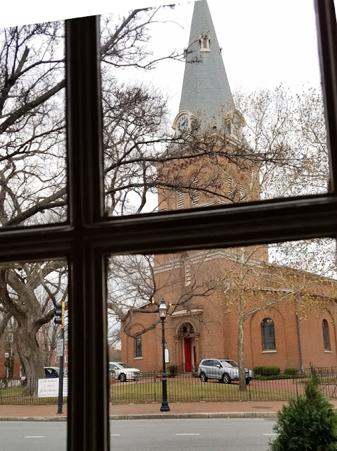 Annapolis,MD - Church circle - window view