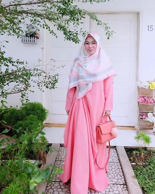 Model Baju Muslim Untuk Orang Gemuk Anggun