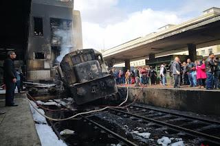 التليفزيون المصري: 20 قتيلا في حادث محطة مصر