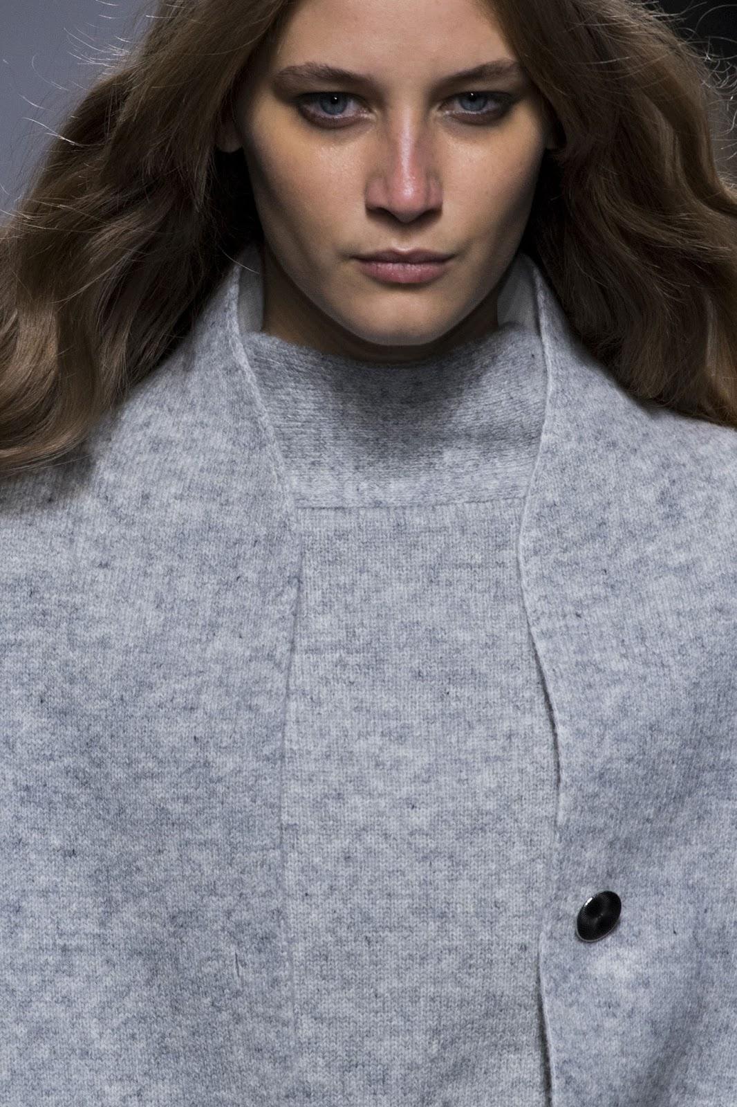 Melina Gesto at Paris fashion week / Review, runway looks and details of Hermes Fall/Winter 2016 collection from Paris fashion week via www.fashionedbylove.co.uk British fashion blog
