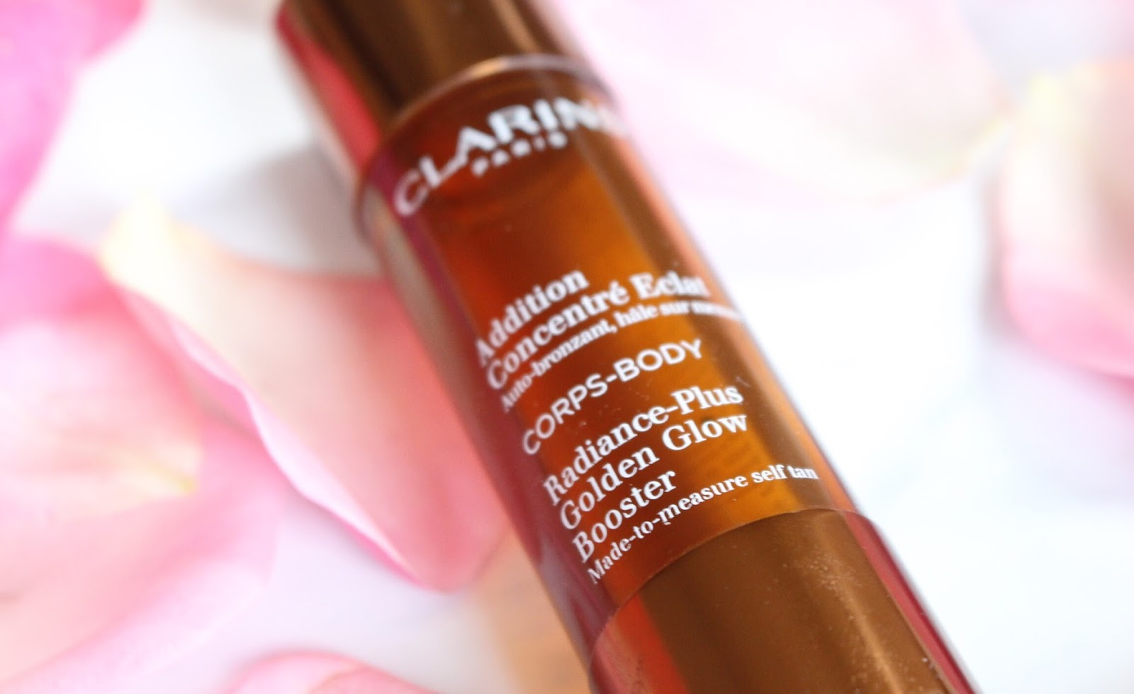 Shoppinator-Shoppination-Blog-Review-Selbstbräuner-Selbstbräunertest-Selbstbräunerreview-Clarins-Selbstbräunertropfen-Addition-Concentré-Eclat-Radiance-Plus-Golden-Glow-Booster-Serum-Self-Tan-Loreal-Sublime-Bronze-Self-Tanning-Elixir-2-weeks-guter-Selbstbräuner-ohne-Streifen-orange