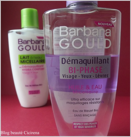 démaquillants à l'eau micellaire, barbara gould, beauté blog,