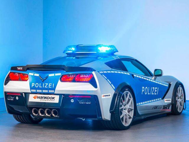 polizei1 Η γερμανική αστυνομία αγοράζει Corvette και τη βελτιώνει, μάντεψε γιατί Chevrolet, Chevrolet Corvette, zblog, αστυνομία, Γερμανία