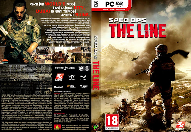 Capa Spec Ops The Line PC