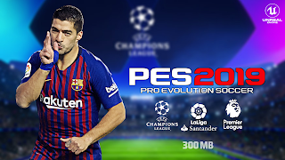 PES 2019 Lite 300 MB Android Offline Best Graphics English Version