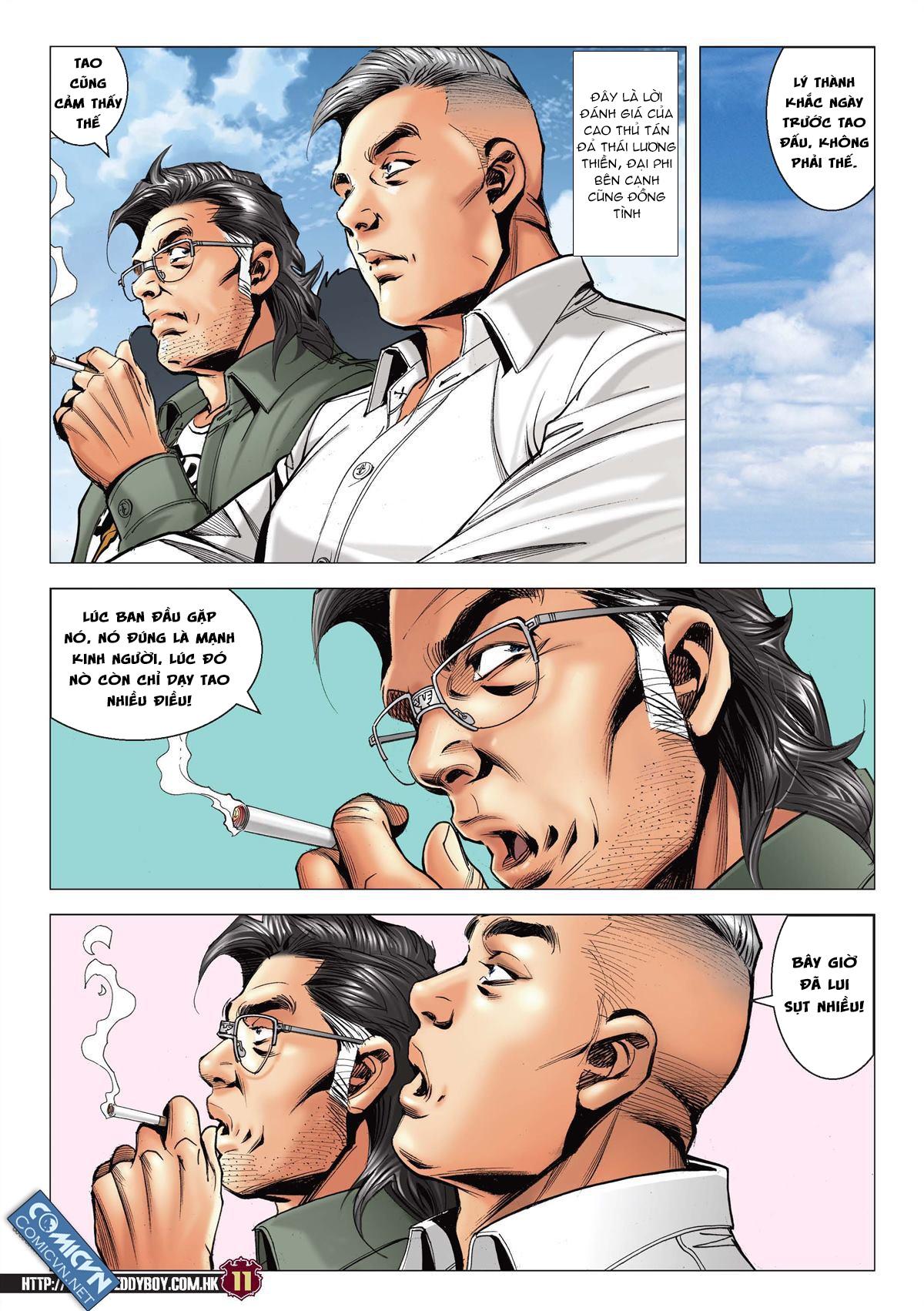 Người Trong Giang Hồ chapter 2137: tiền lộ nan hành trang 10