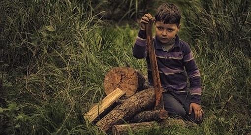 Çocuk Doğa Odun