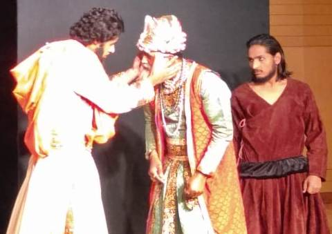 "Chabanchi Theater Festival - The second stage of the drama ""Kala Taj Mahal"""