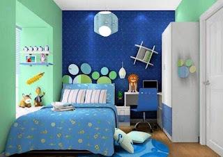 koleksi desain kamar tidur anak laki laki ukuran 3 x 3 populer