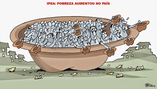 Resultado de imagem para miseria aumenta no brasil