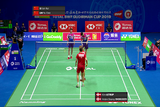 BWF Sudriman Cup Eutelsat 7A/7B Biss Key 23 May 2019
