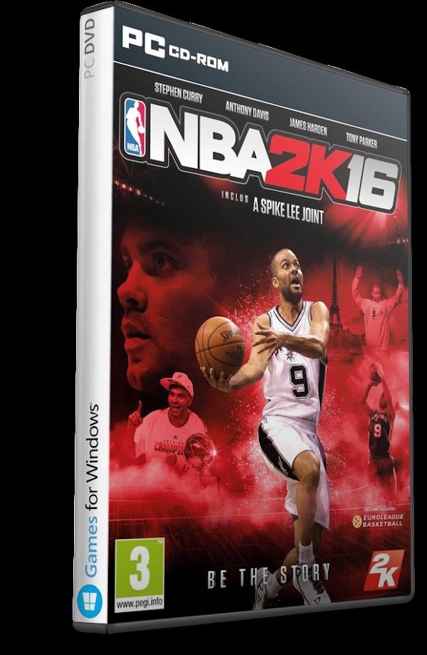 DESCARGAR NBA 2K16 Multilenguaje (Español) (PC-GAME)  MEGA