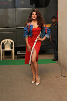 Jacqueline Fernandez Spicy Bollywood Actress in Red Dress Spicy  Exlcusive Gallery Pics (2).JPG