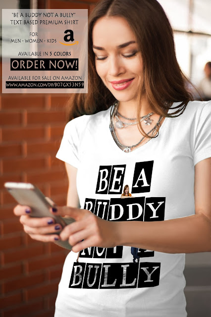 Be A Buddy Not A Bully Premium Shirt by Mian Mohsin Zia
