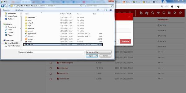 Cara Upload File Web CodeIgniter Web Sekolah
