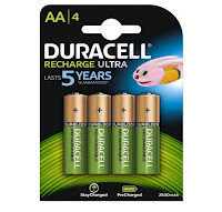 pile Duracell Recharge Ultra