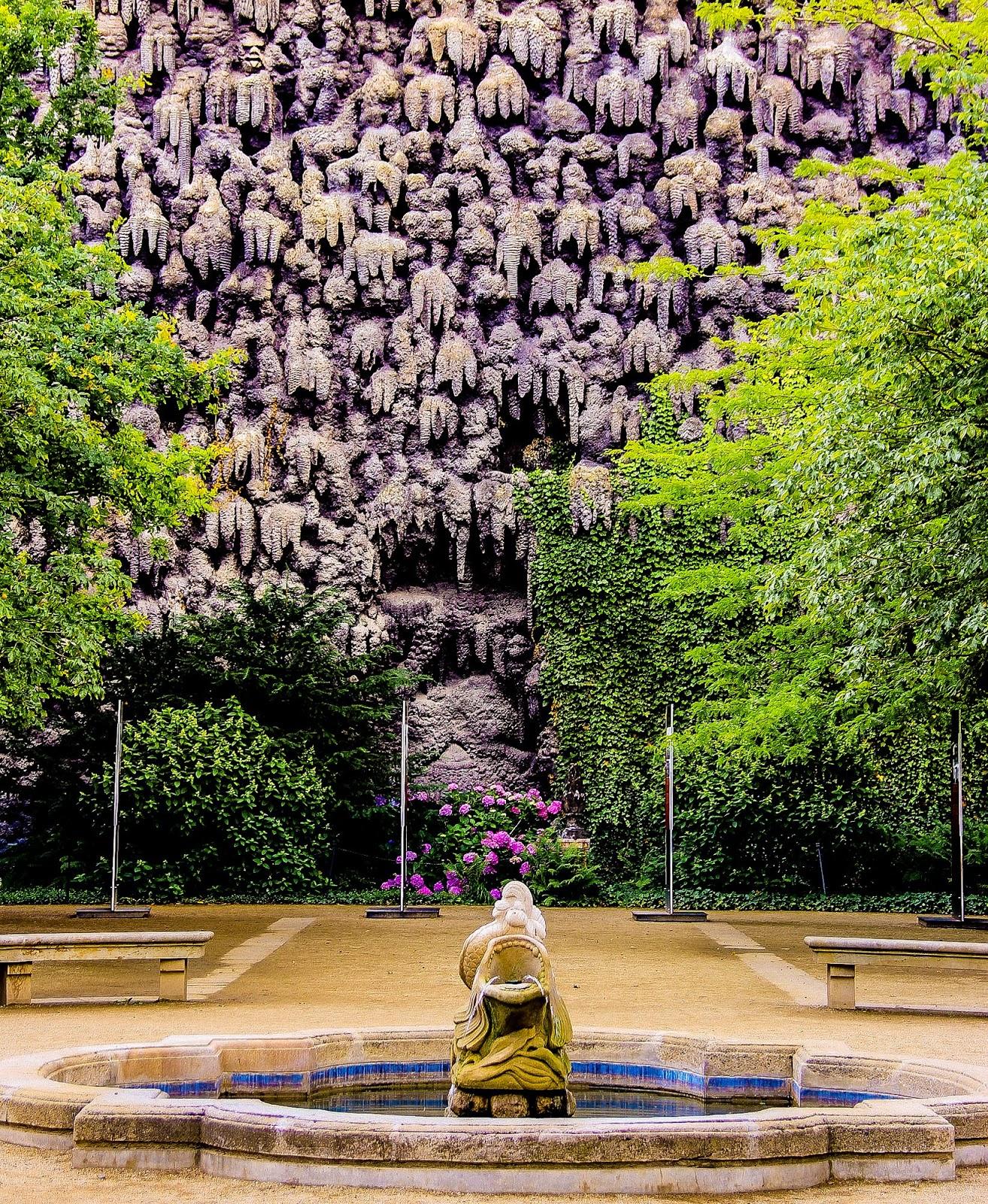 El poder del arte un jard n at pico en el palacio de for Jardin wallenstein