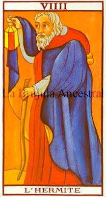 Tarot de Marsella: El Ermitaño