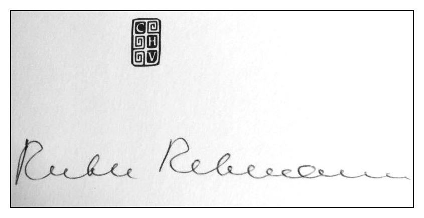Le monde de Kitchi: Great women # 58: Ruth Rehmann