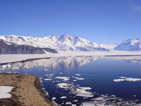 Kerak Bumi, lapisan es