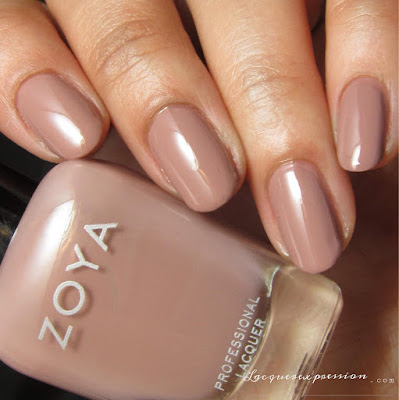Nail polish swatch of Jill from the Naturel 3 collection by Zoya