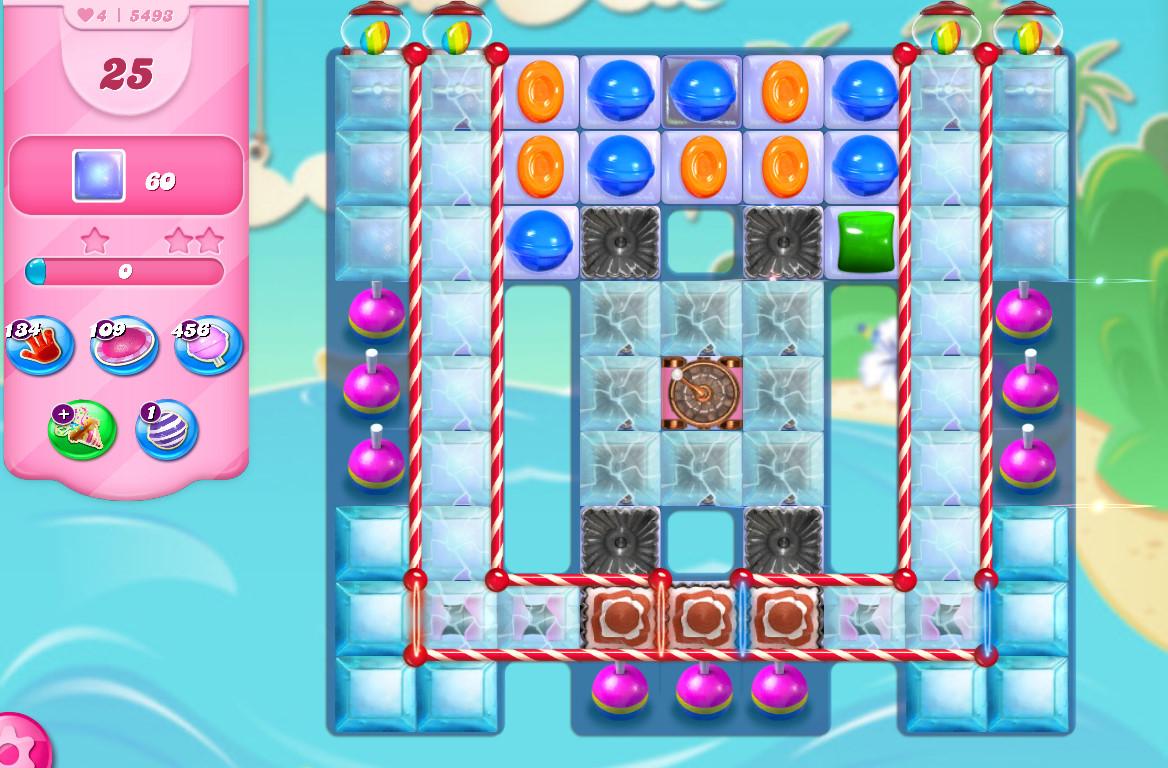 Candy Crush Saga level 5493