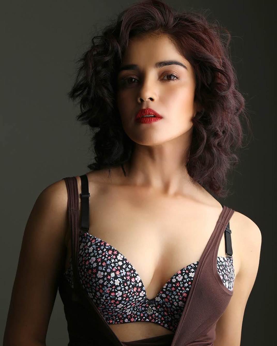 Piaa Bajpai in beautiful new Portfolio in Bikini Tops