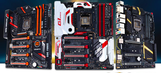 GIGABYTE announces new 100 Series Motherboards based on Intel Z170 Chipset with Support for Intel's new 6th Gen. Core Processor